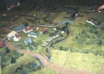 A 15mm scale Napoleonics game by the Warlords as Salute 87